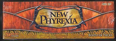 New Phyrexia Magic the Gathering MtG booster box Factory sealed English