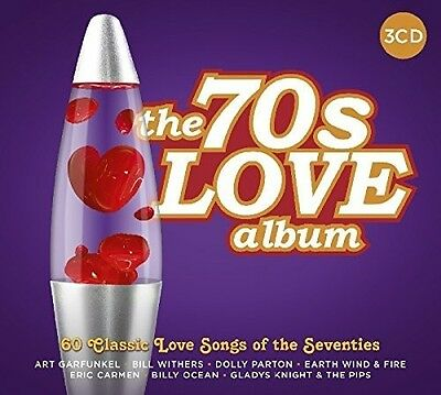 Various Artists - 70s Love Album / Various [New CD] UK - Import