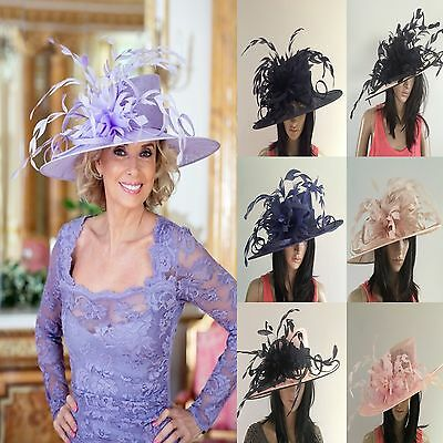 Nigel Rayment Wedding Ascot Occasion Hat Occasion Mother Of The Bride Feathers