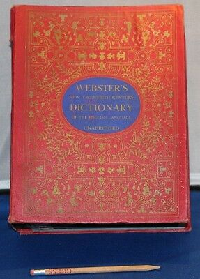 Vintage BOOK Safe Large~Hidden Compartment Common Dictionary Hardcover