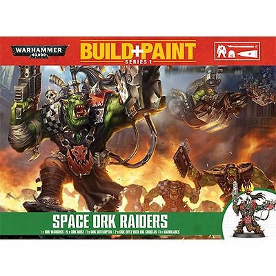 Warhammer 40K Build + Paint - Space Ork Raiders - Build and Paint NEW