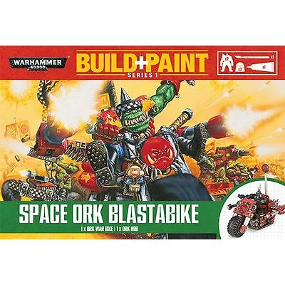 Warhammer 40K Build + Paint - Space Ork Blastabike - Build and Paint NEW
