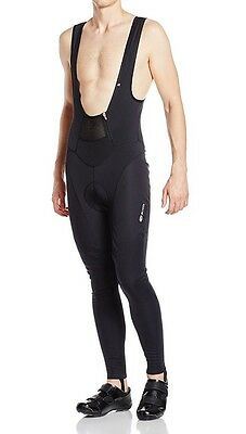 *NEW Sugoi Men's RS Firewall Bib Tights Padded For Cycling Black - Size Large
