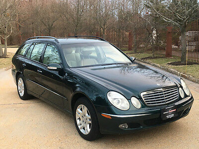 2004 Mercedes-Benz E-Class  low mile free shipping warranty e320 wagon luxury clean 3 owner cheap loaded