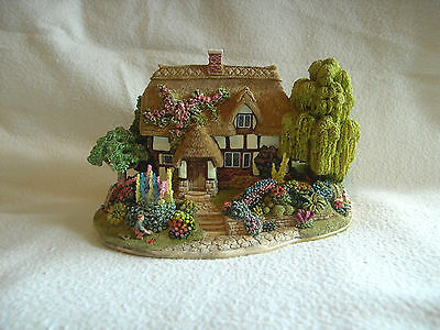 Lilliput Lane Canterbury Bells First Version New In Box  With Deeds 1997