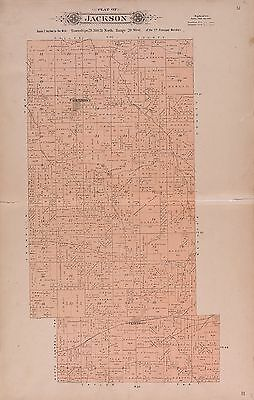 1904 GREENE COUNTY plat maps MISSOURI old GENEALOGY history Atlas Land P116