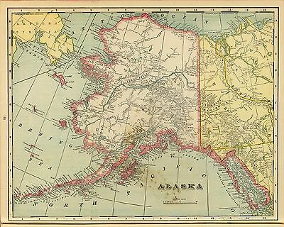 127 maps ALASKA lot GENEALOGY panoramic county HI REZ  old history atlas DVD