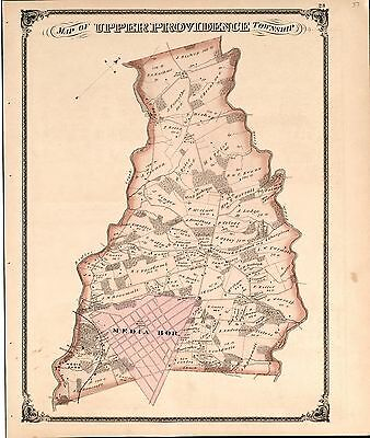 1875 HENRY COUNTY plat maps INDIANA GENEALOGY history Atlas Land P59