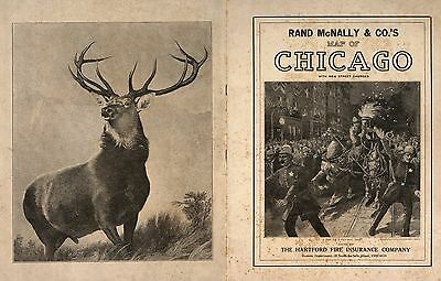 1913 CHICAGO CITY maps ILLINOIS old GENEALOGY Atlas STREET MAP Rand McNally DVD
