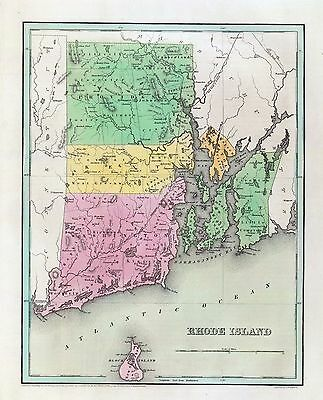 139 maps RHODE ISLAND old state PANORAMIC genealogy lots HISTORY teaching DVD