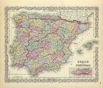 209 maps SPAIN PORTUGAL history SPANISH VILLAGES SETTLEMENTS old Genealogy DVD
