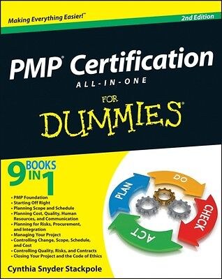PMP Certification All-in-One For Dummies (Paperback), Stackpole Snyder, Cynthia.