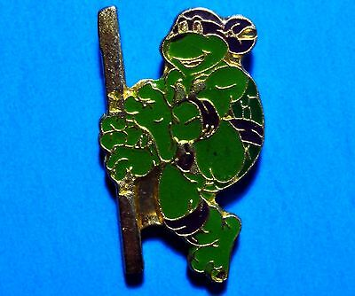 Teenage Mutant Ninja Turtles - Donatello -  Vintage 1990 Mirage Lapel Pin - # G