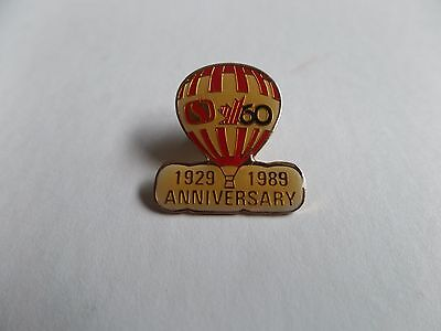 Canada Safeway Limited 60th Anniversary Staff pin 1929-1989 Balloon Pin