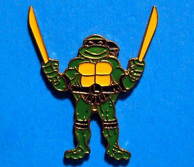 Teenage Mutant Ninja Turtles - Leonardo - Vintage Lapel Pin - Pinback - # C