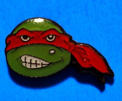 Teenage Mutant Ninja Turtles - Raphael - Face - Vintage Smaller Lapel Pin