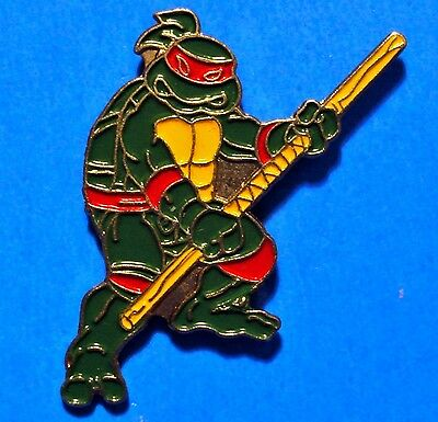 Teenage Mutant Ninja Turtles - Donatello - Vintage Lapel Pin - Pinback - # D
