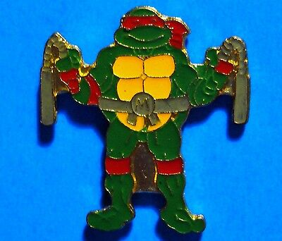Teenage Mutant Ninja Turtles - Michelangelo - Vintage Lapel Pin - Pinback - # F
