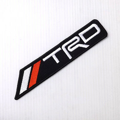 *1Pc. Trd Racing Development Embroidered Iron On Patch Badge Shirt Shorts Cap