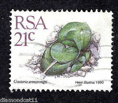 1988 South Africa Succulents 21c Gasteria armstrongii SG 660a FINE USED R25200