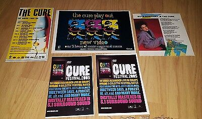The Cure Half Page Magazine Press Advert/clippings/cuttings/mag Ads Bundle