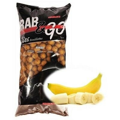 Starbaits Grab And Go Boilies 3kg BANANA FLAVOUR 14mm