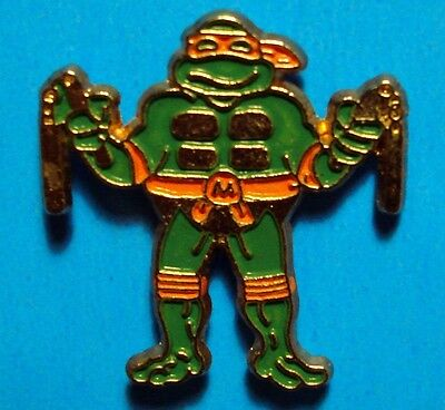 Teenage Mutant Ninja Turtles - Michelangelo - Vintage Lapel Pin - Pinback - # M
