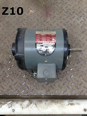 Rockwell Manufacturing 66-340 1/2HP Electric Motor 1725RPM 3PH 208-220/440V