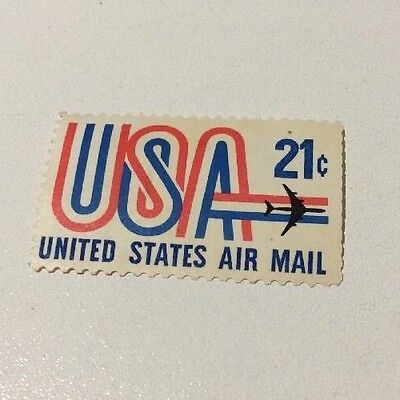 USA 1971 Air Mail 21c Unused Stamp Mint Condition