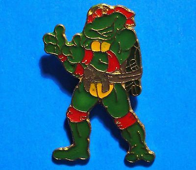 Teenage Mutant Ninja Turtles - Two Thumbs Up -  Vintage Lapel Pin - Pinback