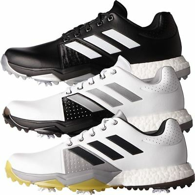 Adidas 2017 Adipower Boost 3 Hommes Chaussures Imperméable Cuir Golf-Coupe Large