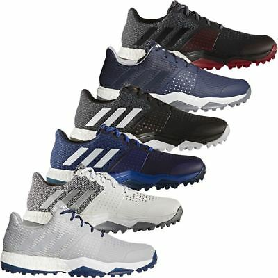 lowest price d7431 247c0 adidas ADIPOWER SPORT BOOST 3 MENS SPIKELESS WATERPROOF GOLF SHOES