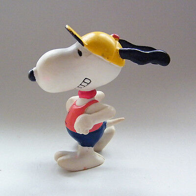 Vintage Peanuts SNOOPY Figure Marathon Jogger / Power Walk