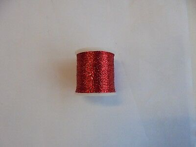 metallic fishing rod whipping thread red grade A 100yds