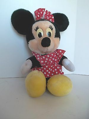 Vintage 1988 Minny Mouse Plush Toy  For The Walt Disney Co.