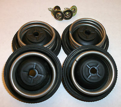 Original Vintage Hitachi Turntable Rubber Cushion Foot For Ht-1 With Springs
