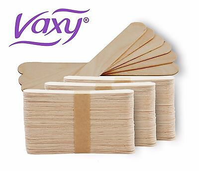 Wooden Waxing Spatulas Professional Disposable Wax Applicators. Free Delivery