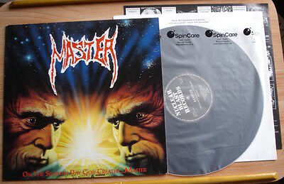 Master On The Seventh Day God.. Lp 91 Germany Nuclear Blast 1St + Inner Death M-