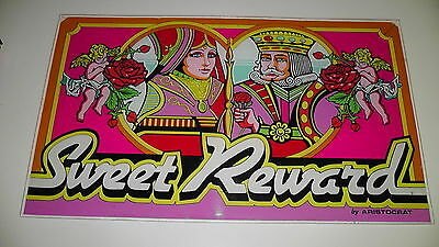 Sweet Reward Las Vegas Slot Plexi Glass