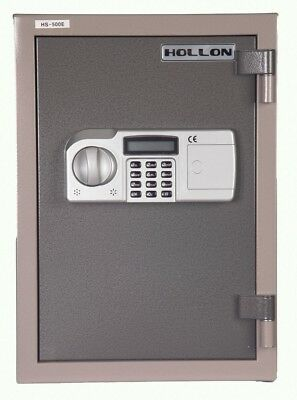 HS-500E Hollon 2hr Fireproof Home Personal Closet Safe 0.83 cu ft Keypad