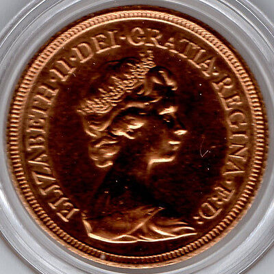 1982 FULL Gold Sovereign BRILLIANT UNCIRCULATED - FULL LUSTRE - PRICED TO SELL