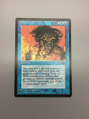 Wizards Of The Coast Magic The Gathering Ccg Force Of Will 1996 Alliances