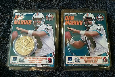 Dan Marino Collectible Coin Wachovia Game Series with case