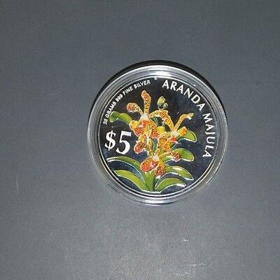 2006 Heritage Orchids of Singapore Silver Proof Coin