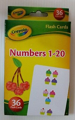 Crayola Flash Cards  (Number 1-20)