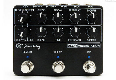 NEW KEELEY DELAY WORKSTATION DELAY / REVERB w/ TAP EFFECTS PEDAL 0$ US S&H