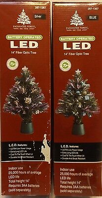 Fiber Optic Trees Enchanted Forest Battery Operated L.E.D.