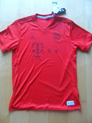 Adidas FC Bayern München Parley Limitiertes Sonder Trikot Gr. M Recycling Rot