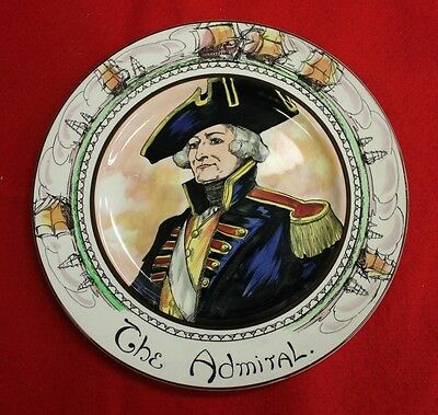 "Royal Doulton The Admiral 10"" Plate Professional Series"
