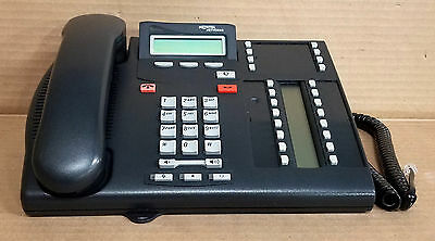 Nortel Norstar T7316E Charcoal Display Phone Telephone